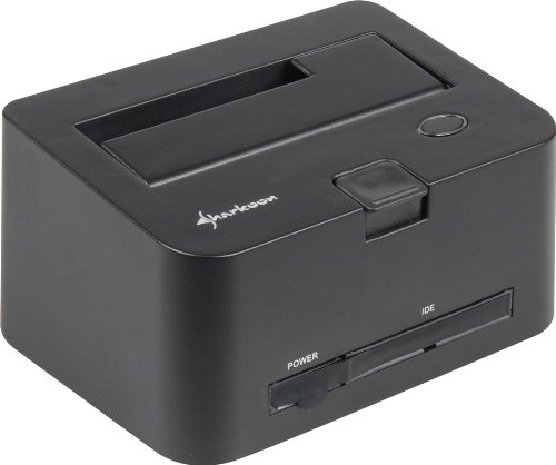 Sharkoon QuickPort Combo USB 3.0 - HDD Dockingstation für IDE und SATA Festplatten, USB 3.0