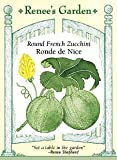 Round French Zucchini Seeds - Ronde de Nice
