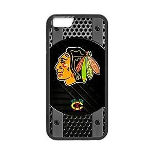 """Custom Unique Design NHL Chicago Blackhawks Iphone 6(4.7"""") Silicone Case"""