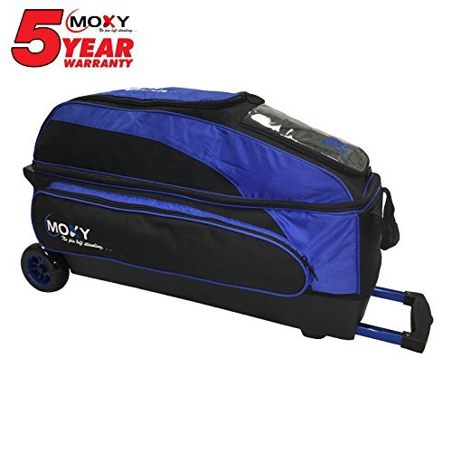 Moxy Blade Triple Roller Bowling Bag- Royal/Black