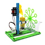 Bubble Maker, Witspace Children DIY Assembly Bubble Machine Educational Toys Science Experiment-Battery Powered