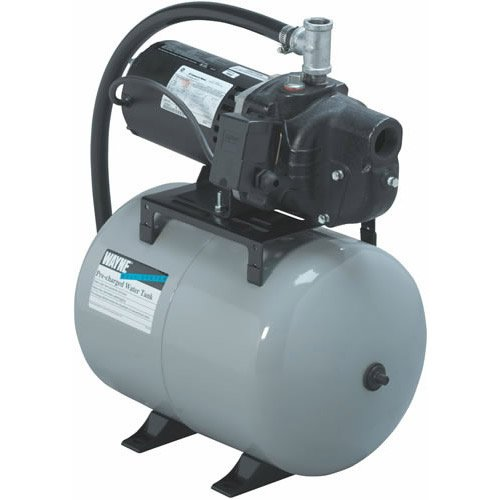 Wayne SWS50-8.5FX 1/2 hp Shallow Jet Well Pump Precharged 8.5 gallon Tank System
