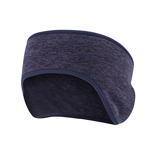 Fleece Ear Warmer Cover Headband - Ear Muffs for Men & Women Perfect for Winter Running Yoga Skiing Wort Out Riding Bike in Cold and Freezing Weather (Best Places To Ski In The Northeast)
