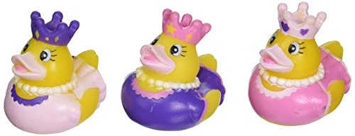 Rhode Island Novelty One Dozen (12) Princess Rubber Ducky Party Favors