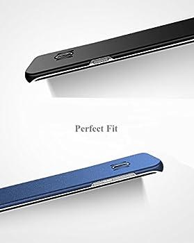 Vanki Funda Galaxy S8 Plus/S8, Ultra fino Ligero Mate Premium Superficie Liso Para Samsung Galaxy S8 Plus/S8+ Smartphone (Samsung Galaxy S8, Vino Rojo): Amazon.es: Ropa y accesorios