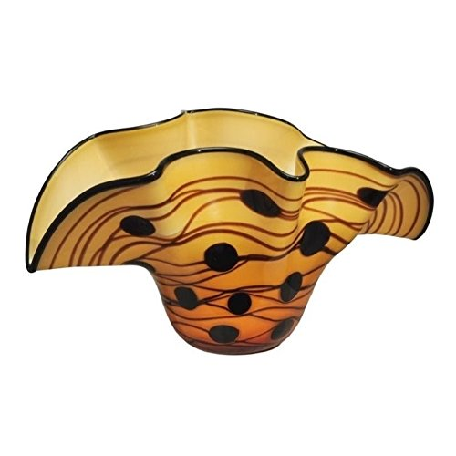 Dale Tiffany Clam Bowl (Yellow Bowl Decorative)