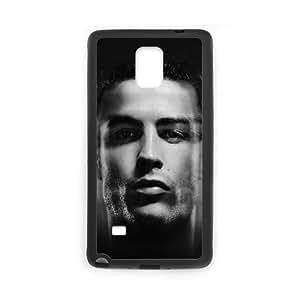 Samsung Galaxy Note 4 Cell Phone Case Black hc34 cristiano ronaldo amazing face rocks soccer SUX_871194