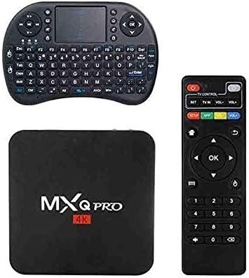 MXQ PRO Android TV Box Quad Core 64bit 4K KODI Smart TV Box