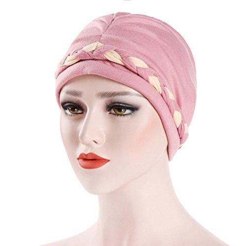 Vanvler   Beanie Cap   India Hat Muslim Headwrap   Cancer Chemo Hat   Braid  Turban c321b6f7f8ec