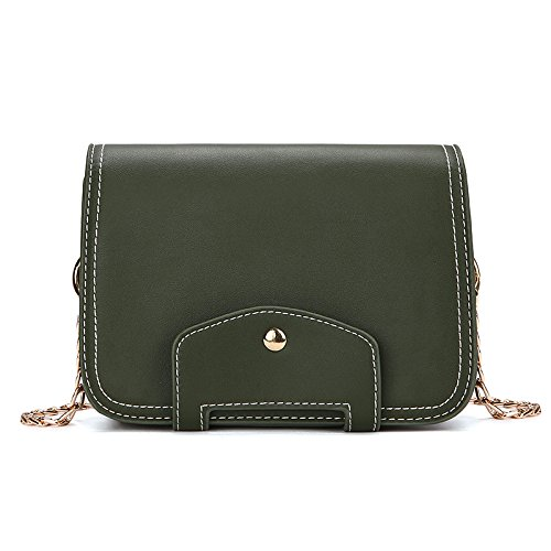 à Mode Mini Bag Shoulder Khakigreen Main Sac BAILIANG PU Simple Womens Crossbody nzw1CygYvq