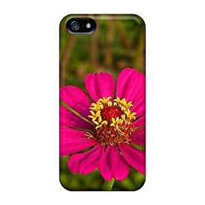Day Life Awesome Case Cover Compatible With Iphone 5/5s - Pink Flower 1