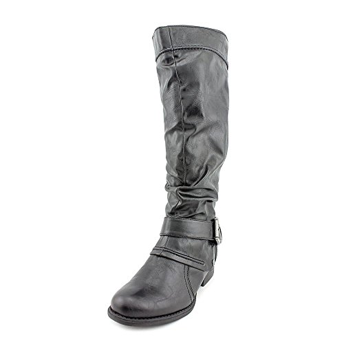 Baretraps Julee Buckled Womens Shoes 5.5m Mid-calf Boots @ 085 Black 5.5