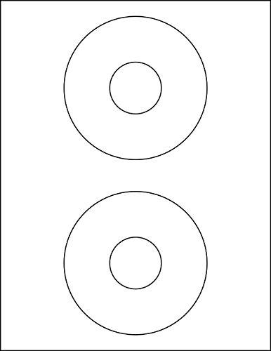 200 5824 Compatible CD DVD Labels (ACE 61100) 4.5