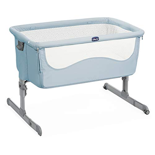 Chicco 2019 Next2Me Cot for All Beds Unisex Ocean Blue