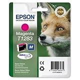 Epson T1283 Inkjet Cartridge DURABrite Fox Capacity 3.5ml Magenta Ref C13T12834011