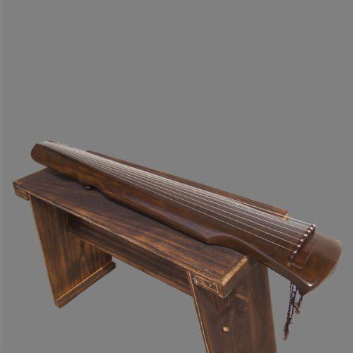Exquisito chino 7 instrumento de cuerda old madera de pino Guqin ...
