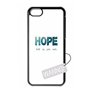 Hold on pain ends Iphone 5C Hard Back Case, Hold on pain ends Custom Case for Iphone 5C at WANNG