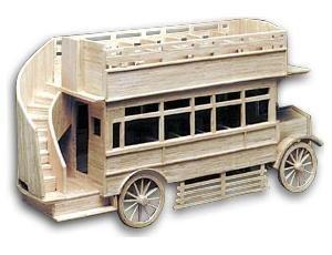 Matchbuilder 1920's Veteran Omnibus Matchstick Modelling Kit. 6103