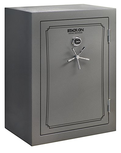 Stack-On TD-69-GP-C-S Total Defense 51-69 Gun Safe with Combination Lock, Gray Pebble