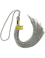 "GraduationMall Single&Multiple Color Graduation Tassel with 2021 Year Charm 9"""