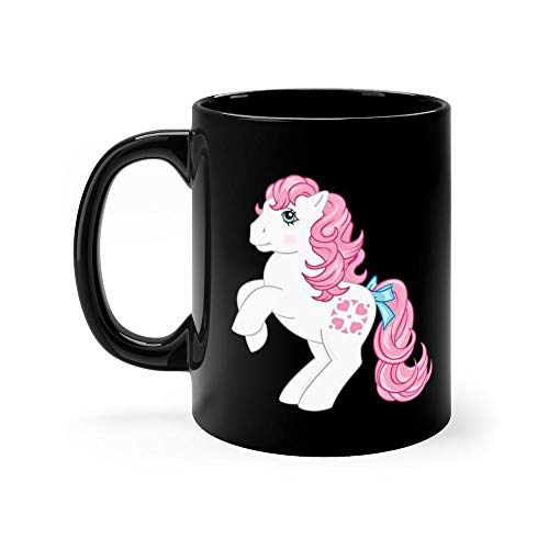 g1 my little pony sundance 11oz Black Ceramic Horse Graphics Cute Coffee Tea Mug Gift For Horse Lover Men -