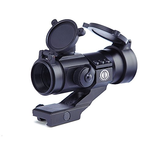 Dagger Defense -Combat Vet Owned Company- DD30M3 Red Dot Reflex Sight Scope- Reflex Sight Optic and Substitute for Holographic red dot Sights