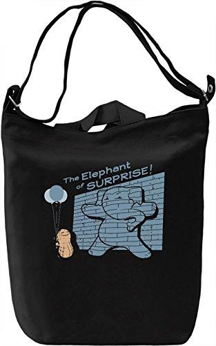 Elephant Of Surprise Borsa Giornaliera Canvas Canvas Day Bag| 100% Premium Cotton Canvas| DTG Printing|