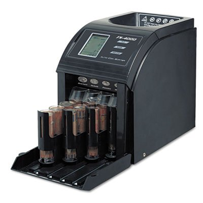 Fast Sort FS-4000 Digital Coin Sorter, Pennies Through Quarters, Sold as 1 Each