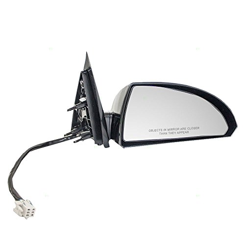 Passengers Power Side View Mirror Heated with Ready-to-Paint Base and Housing Replacement for Chevrolet 20759198