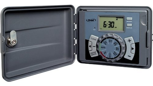Orbit 6-station Indoor/outdoor Sprinkler Timer Model 27896