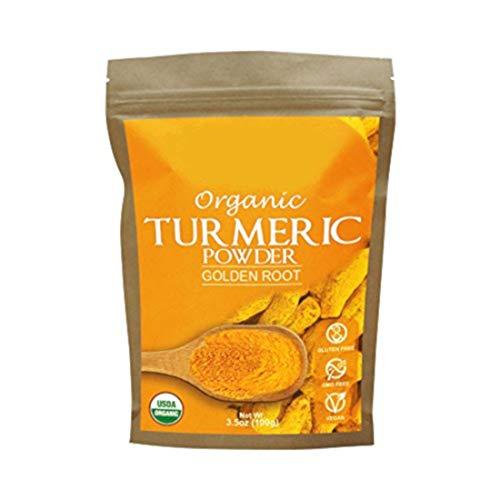 Turmeric Root Powder (Curcumin) Organic, Gluten-Free & Non-GMO, Powder...