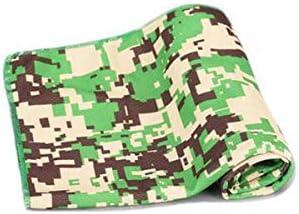 CQIANG 汗および速乾性のスポーツの冷たいタオル、適性ランニングの汗タオル (Color : Camouflage green)