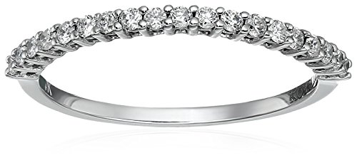 wedding rings white gold diamond - 7