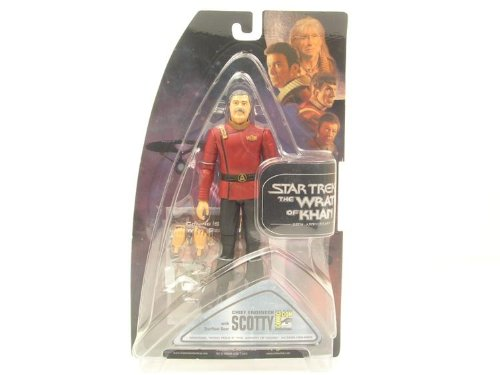 Star Trek II the Wrath of Khan Scotty 25th Anniversary