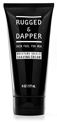 RUGGED & DAPPER Shaving Cream for Men, 6 Oz
