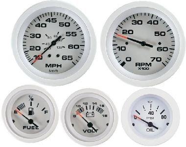 Sierra International 61163P Sahara Pitot Type 10 to 50 Mph Dial Range Scratch Resistant Speedometer Kit, 3