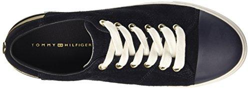 Tommy Basses Bleu Femme Midnight Midnight Hilfiger 1b Sneakers 403 J1285eanne rqwArFT