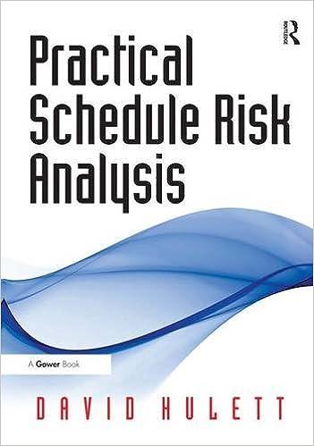 Book Practical Schedule Risk Analysis