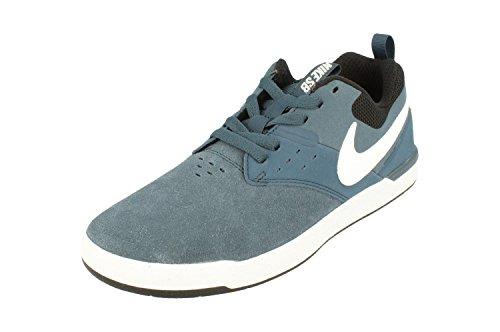 Nike Squadron Piel Hombre para de Zapatillas White black Blue BZBqwTSr6