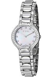 Ebel Women's 9003N18/991050 Beluga Mother-Of-Pearl Diamond Dial and Bezel Watch