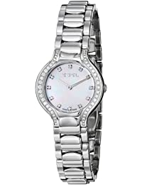 Womens 9003N18/991050 Beluga Mother-Of-Pearl Diamond Dial and Bezel Watch