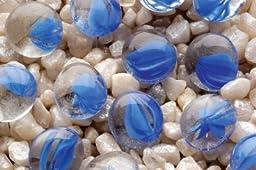 Penn Plax PP03556 Gem-Stones Swirl Blue & Clear