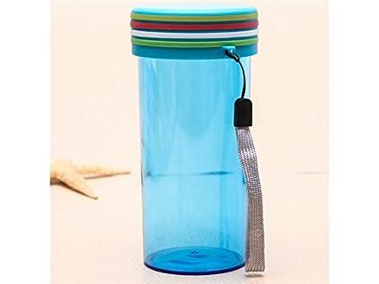 GYwink Reutilizable 301-400ml Botella de Agua Deportiva Ciclismo Senderismo Botella de Agua Copa Botella
