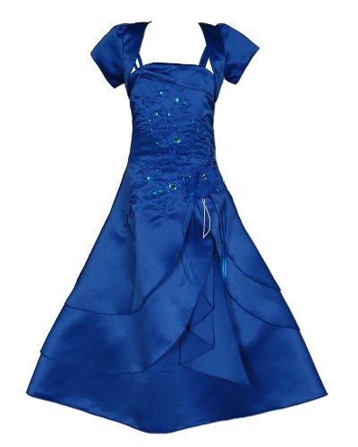 Cinda vestido de dama Azul