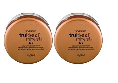 CoverGirl Trublend Natural Golden Sunrise 435 Mineral Bronzer -- 2 per case.
