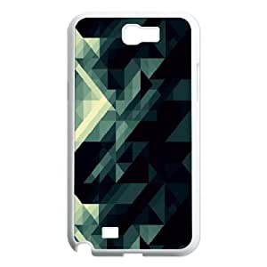 Samsung Galaxy Note 2 Cases Kaleidoscopic 5, Samsung Galaxy Note2 Case - [White] Cathyathome