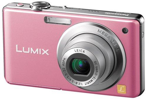 Panasonic デジタルカメラ LUMIX (ルミックス) FS6 ピンク DMC-FS6-P