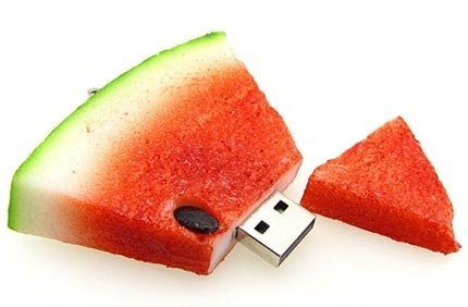 D-CLICK TM High Quality 64GB Cool Watermelon Shape USB High speed Flash Memory Stick Pen Drive Disk