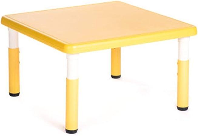 MOMIN Juego de Muebles para niños Actividad for niños Mesa de plástico Mesa for 1-5 años, Mesa del niño, Muebles for niños Mesa de Juguete, Opcionales: Amazon.es: Hogar