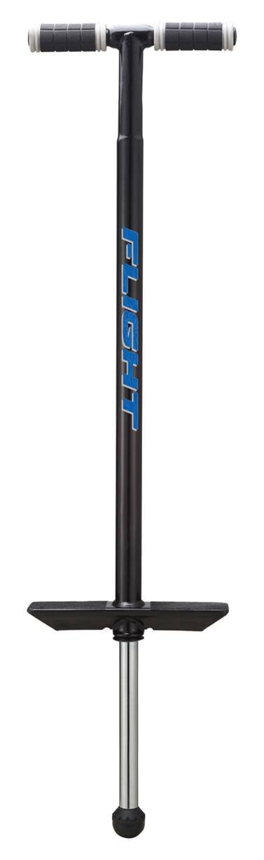 NSG Flight Premium Perfomance Pogo Stick - Ages 9 and Up - 80 - 180 Pounds, Black by NSG